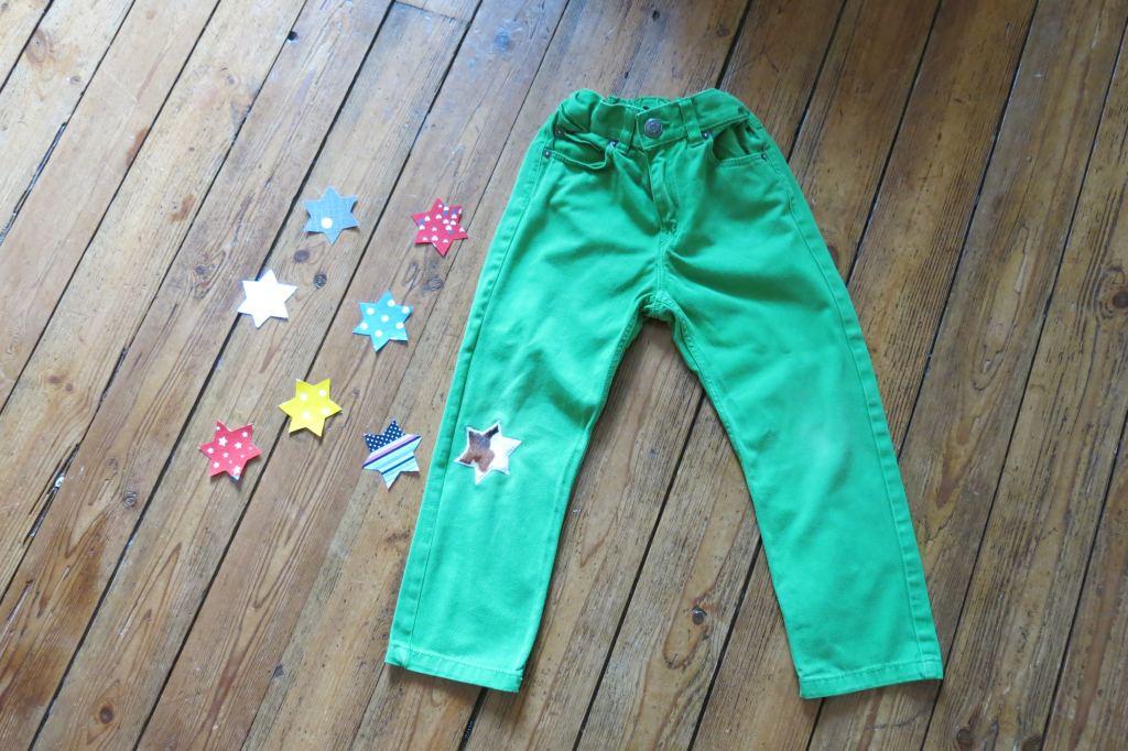 pantalon genou etoile