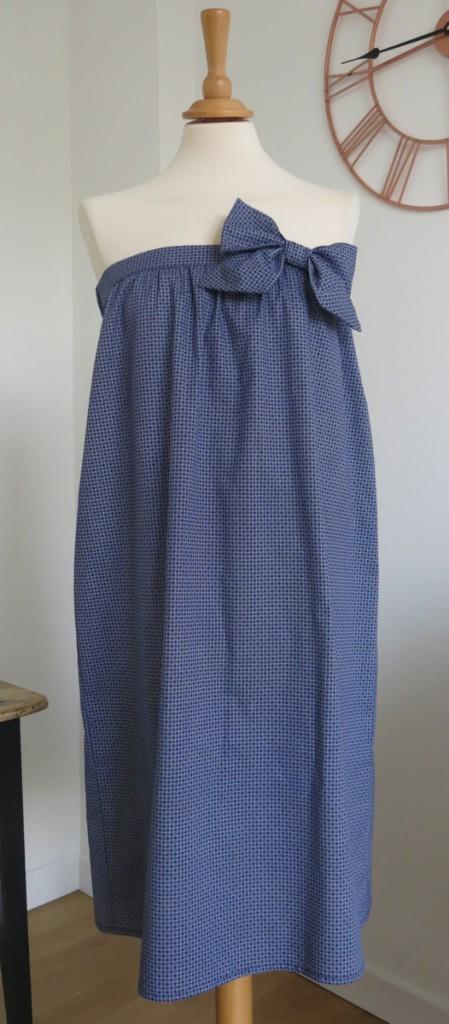 robe-iknaai-petit-noeud-bleue