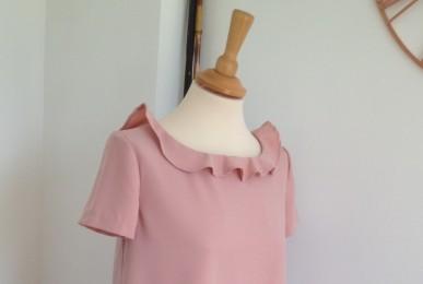 robe-allaitement-rose-iknaai-detail